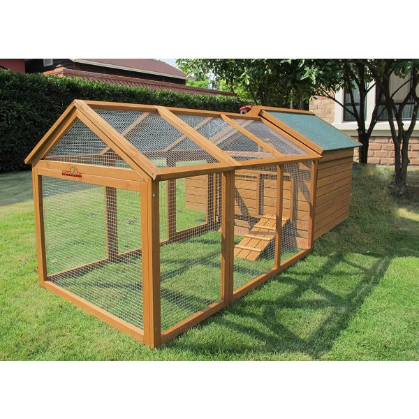 Pets Imperial® Savoy Single Nest Box Chicken Coop with 1.4 m Run