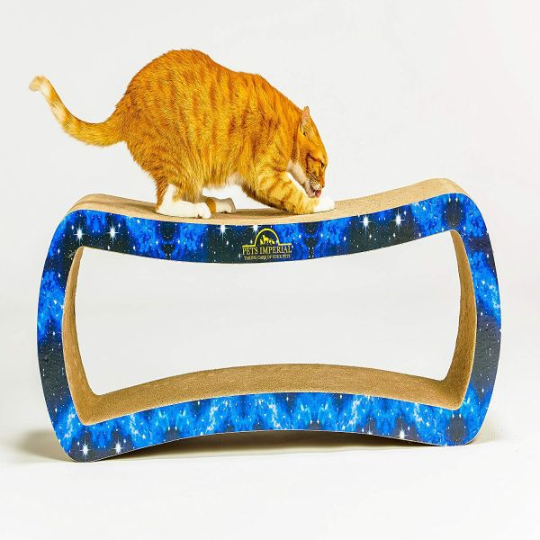 Pets Imperial® Blue Emperor Cat Scratcher Lounger