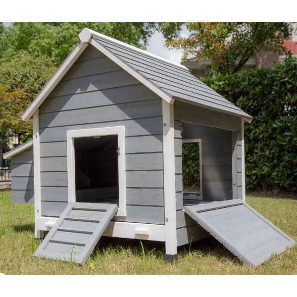Pets Imperial® Grey Hawksmoor Chicken Coop