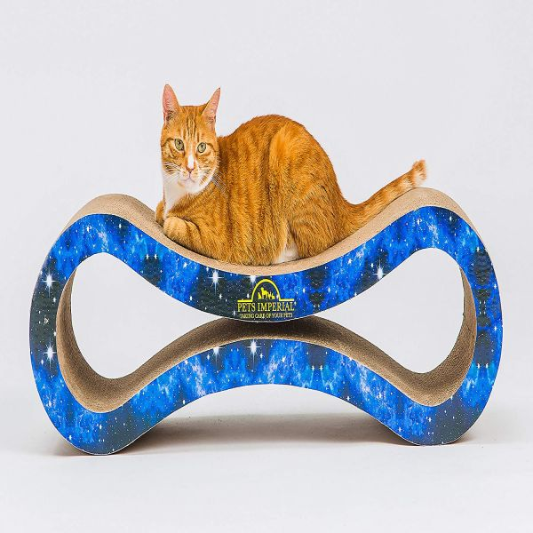 Pets Imperial® Blue King Cat Scratcher Lounger