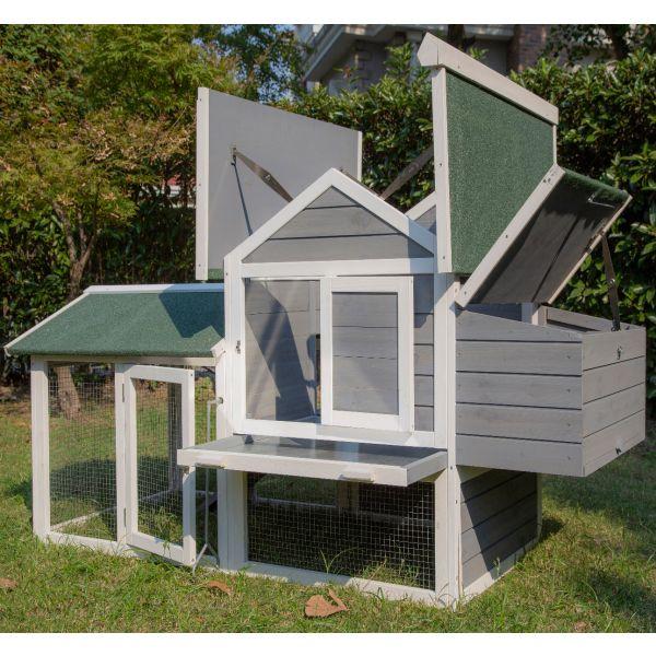 Pets Imperial® Grey Kingsbourne Chicken Coop