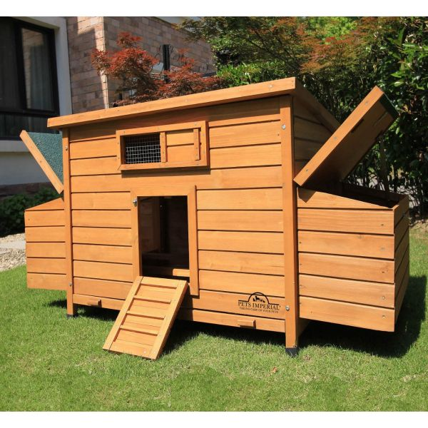 Pets Imperial® Balmoral Double Nest Box Chicken Coop
